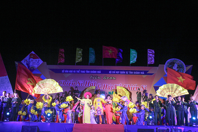 Thirteen art groups join Khanh Hoa's 2019 soldier-themed music festival