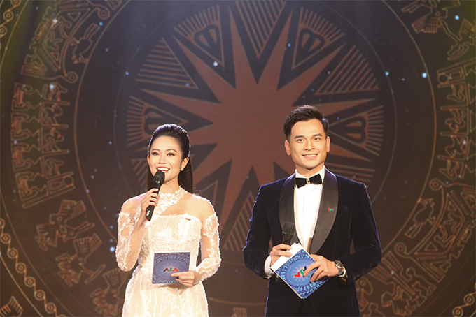 MCs Thuy Linh and Danh Tung