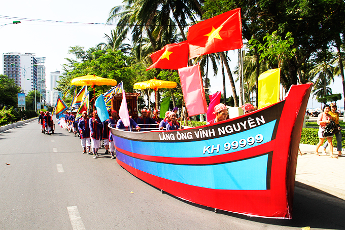 Khanh Hoa's 2020 folk cultural festival will feature ritual acts of Whale Worshipping Ceremony