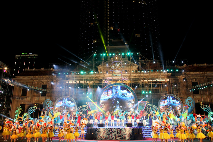 Closing ceremony of Visit Vietnam Year 2019 ends with performance namely saying goodbye to Nha Trang