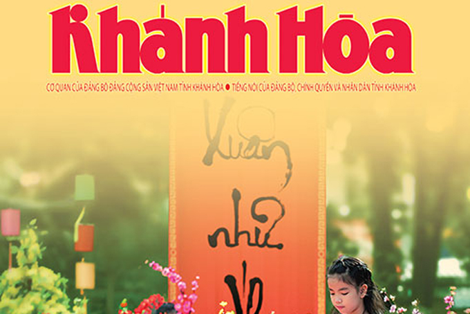 Khanh Hoa Newspaper's 2020 spring edition published on January 6