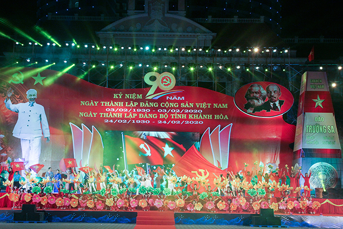 Images of Khanh Hoa's 2020 Lunar New Year video-conference