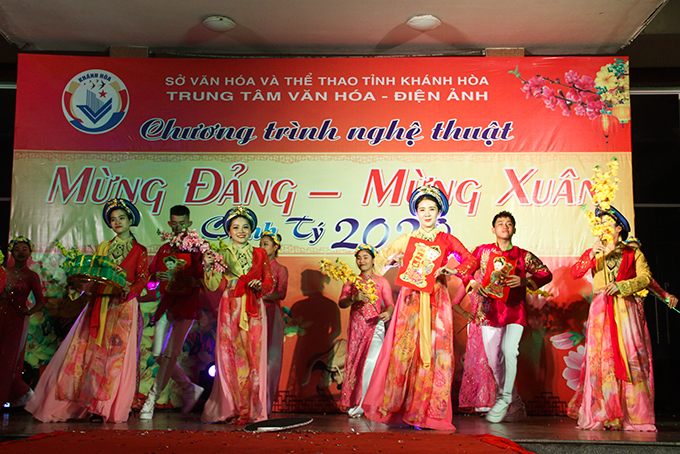 2020 Lunar New Year music show of Khanh Hoa Culture-Cinema Center