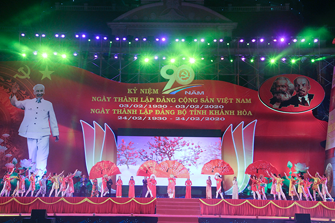 Ending performance of Khanh Hoa's 2020 Lunar New Year Video-Conference