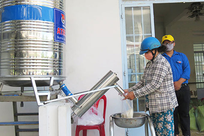 Rice ATM in Van Ninh District