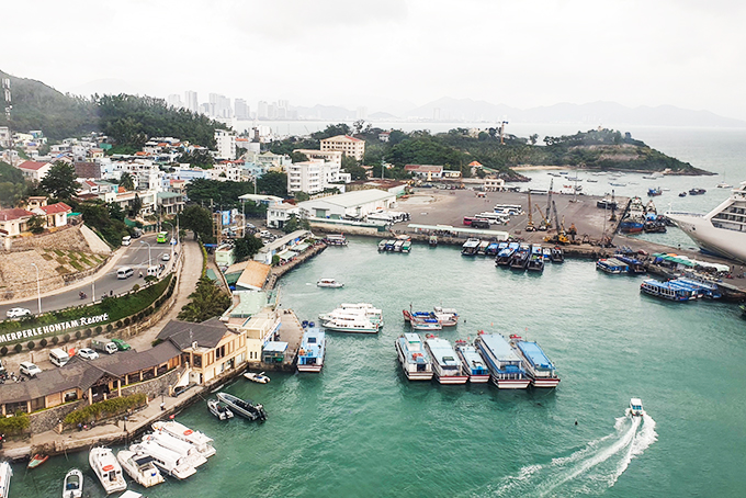Khanh Hoa's 16 ports listed among sea ports of Vietnam