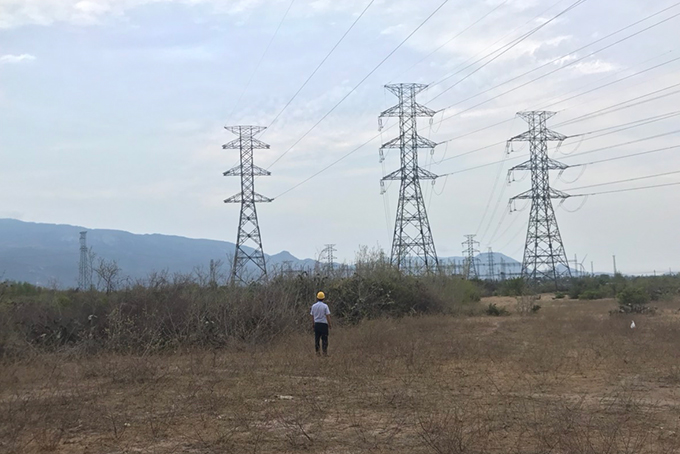 220kV Nha Trang - Thap Cham relieves renewable energy capacity