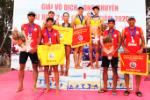 National 2x2 beach volleyball championships 2020: Khanh Hoa win men's and women's events