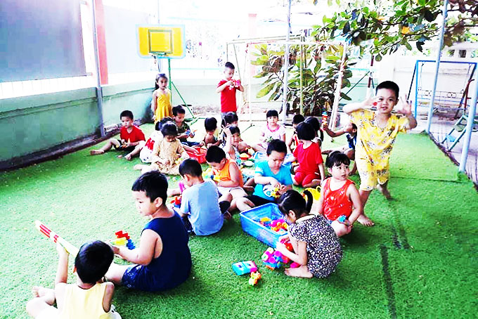 Children's Day activities organized for the needy