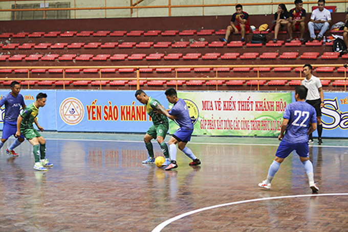 Khanh Hoa futsal championship 2020 joined by 12 teams
