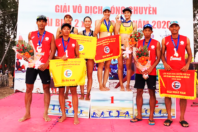 Sanest-Sanna Khanh Hoa players clinch championships