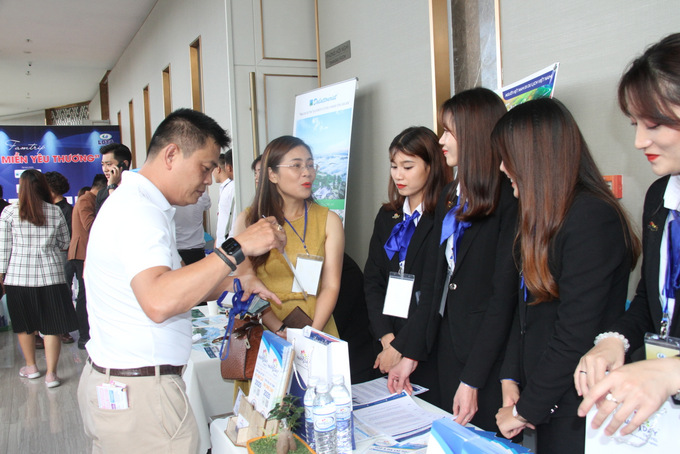 Tourism businesses of Nha Trang City and Lam Dong Province exchange tourism information