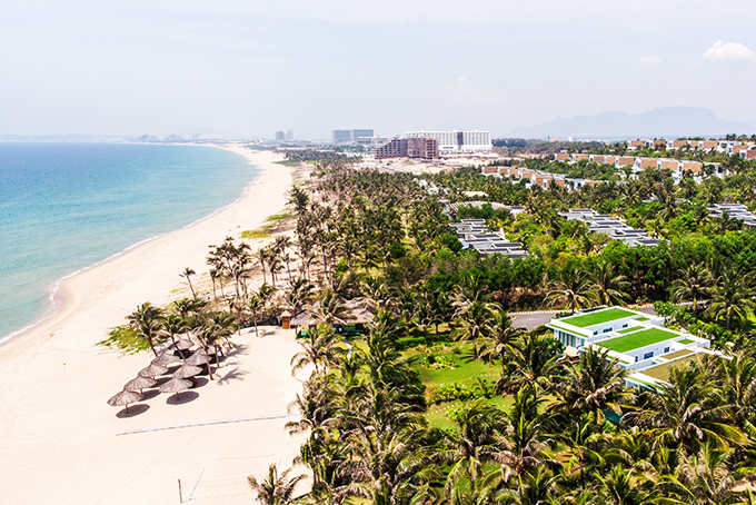 Many projects in Northern Cam Ranh Pennisula tourist area