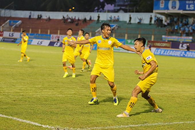 S.KH-BVN players are showing great performance in V-League 2
