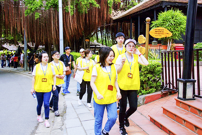 Tourists in Nha Trang in July, 2020