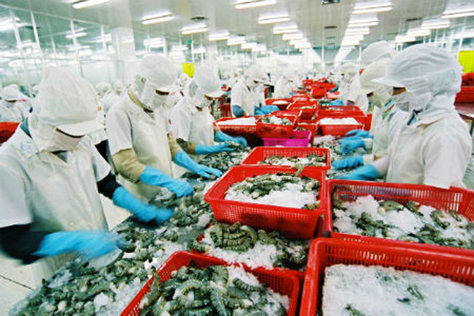 Output of exploited seafood reached over 57,840 tons
