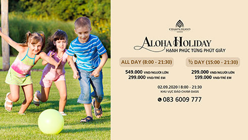 Aloha Holiday packages at Champa Island