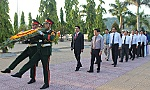 75th National Day wreath laying