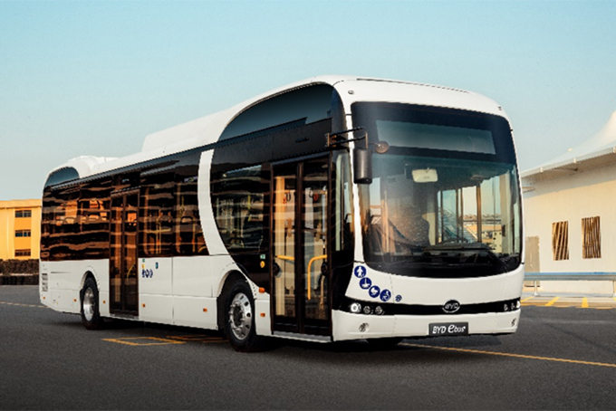 Project on electric buses powered by clean energy for tourist transfer