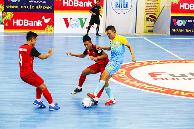 Return leg of HDBank National Futsal Championship delayed for another week