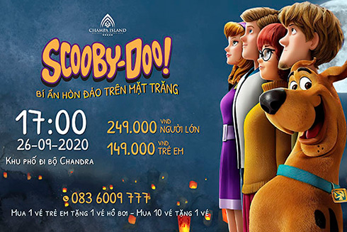 """Discovering mysterious island with Scoobydoo"" at Champa Island Nha Trang"