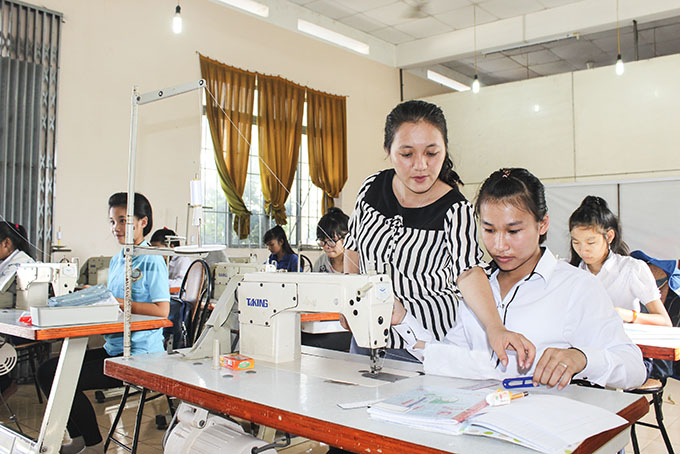 Improving vocational training for rural labor