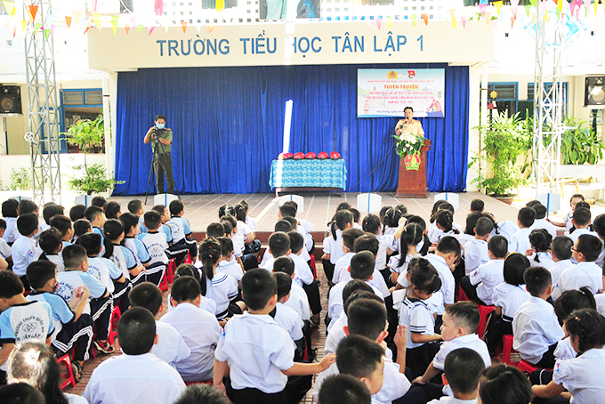 Traffic safety education boosted