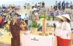 Flower arrangement competition held by Khanh Hoa's Labor Union of Officers