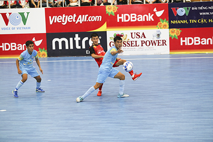 HDBank National Futsal Championship's second leg kicks off