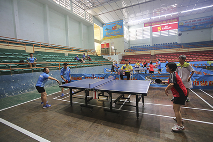 Over 80 players join Khanh Hoa's sports festival for the elderly