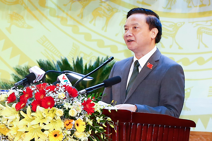 Nguyen Khac Dinh re-elected to be Secretary of Khanh Hoa Provincial Party Committee