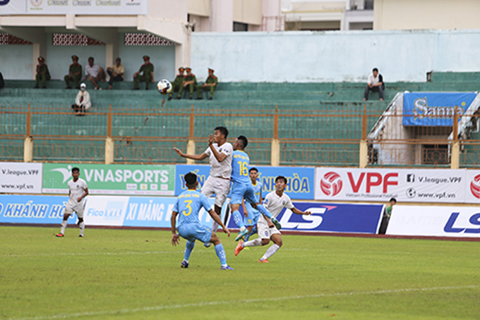 Sanna Khanh Hoa earn come-from-behind win over An Giang