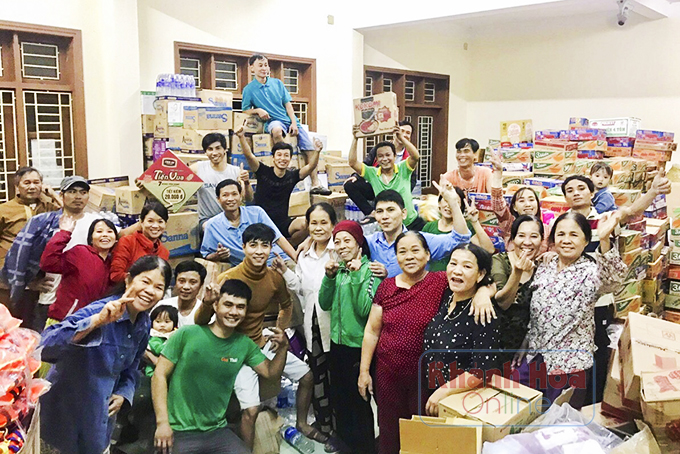 Inspiring good deeds to help flood-hit residents