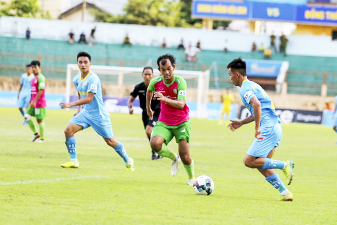 S.KH-BVN have a comfortable win over Dong Thap