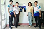 Nha Trang University donates 70 automatic hand washing machines to schools and agencies