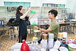 Students join effort against plastic waste