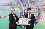 Cam Ranh International Airport receives Certificate of Airport Health Accreditation
