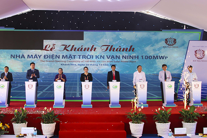 Van Ninh Solar Power Plant inaugurated
