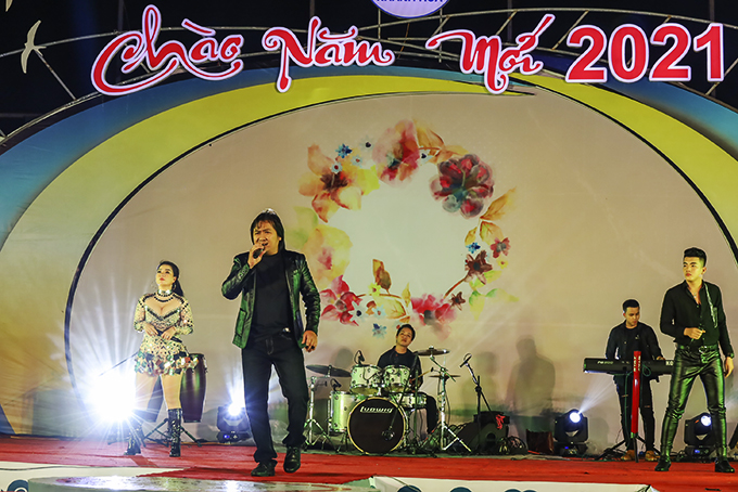 Black Eagle Band performing in New Year 2021 music show