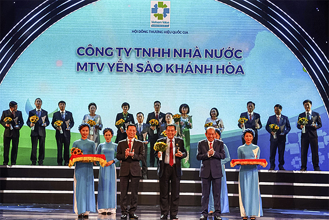 Position of Khanh Hoa Salanganes Nest brand affirmed