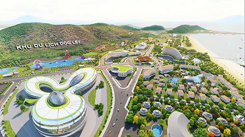 Doc Let Phuong Mai tourist area project perspective
