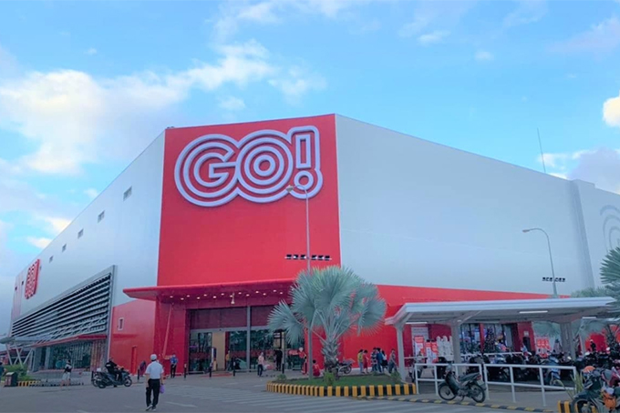 Big C supermarket rebranded GO!