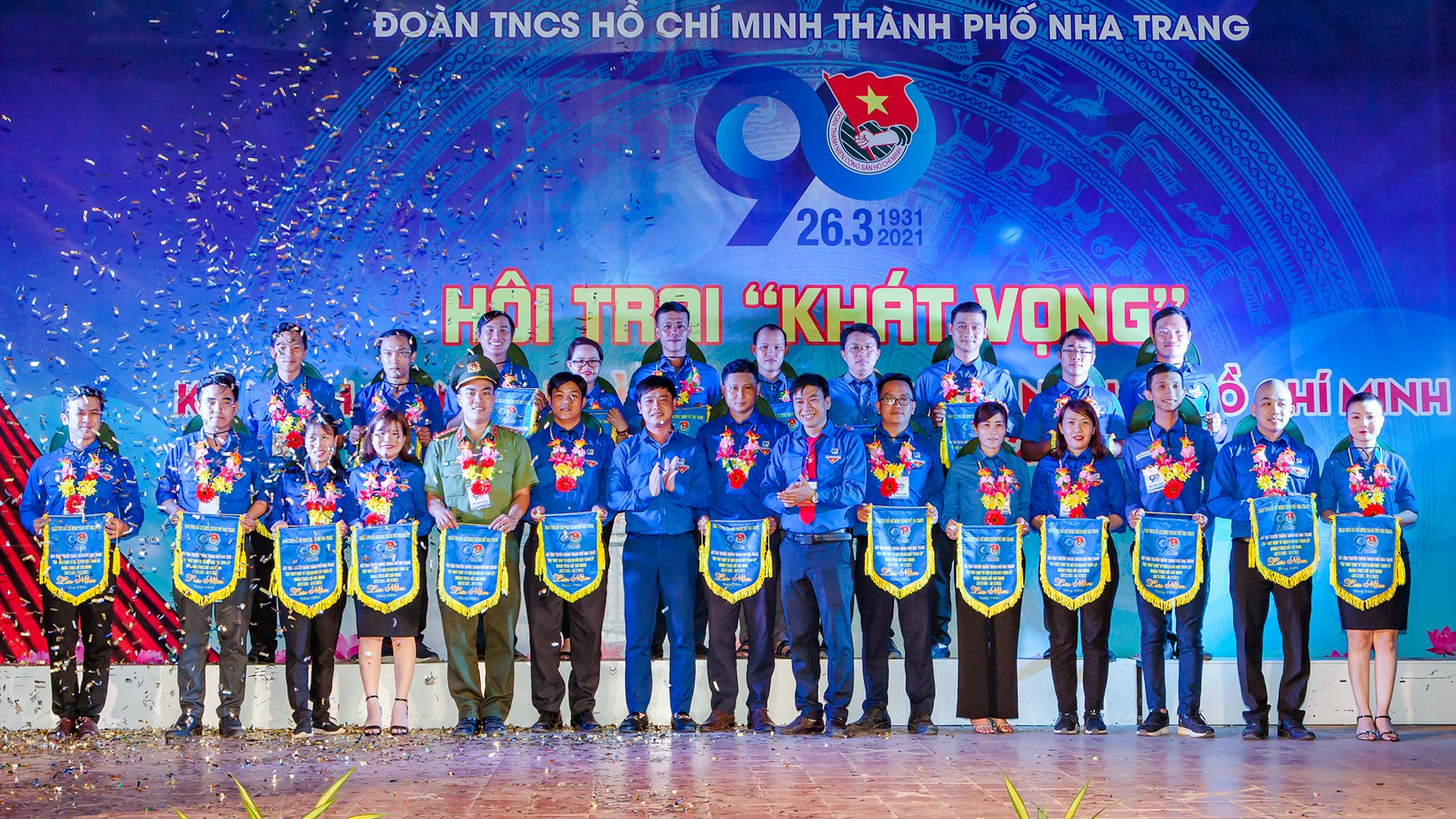 On this occasion, the camp organizers commend 90 elite Nha Trang Youth Union leaders