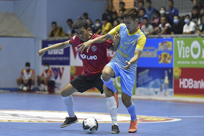 Deluge of goals at HDBank National Futsal Championship 2021 round 1