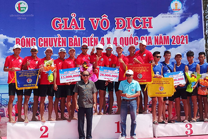 Sanvinest Khanh Hoa win men's first and second prizes